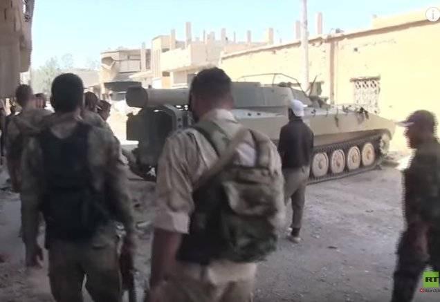 Сирия: в Дейр-эз-Зор переброшен