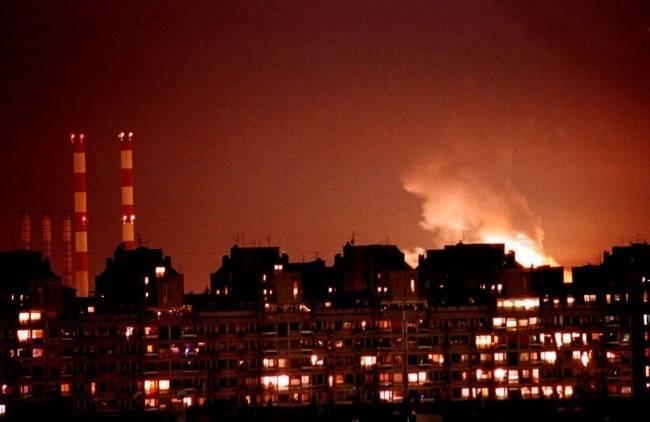 В Белграде вспомнили бомбежки НАТО, показав обломки «невидимого» F-117