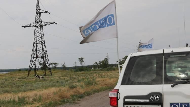 ВСУ обстреляли наблюдателей ОБСЕ во время установки камеры на ДФС