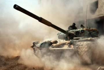 Бойцы САА отразили жуткую атаку боевиков с туннельной бомбой в Дейр эз-Зоре