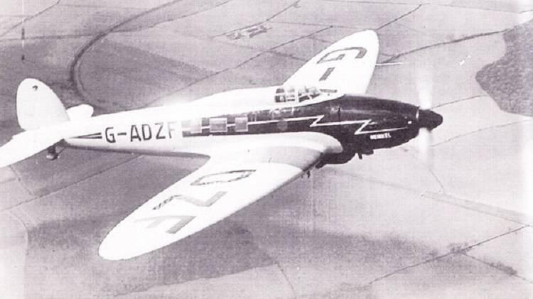 Пассажирский самолет Heinkel He 70 как образец для подражания