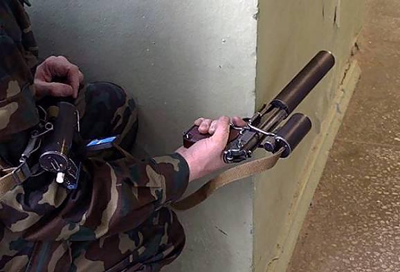 Видеоприцел для стрельбы «из-за угла» для пистолета Макарова