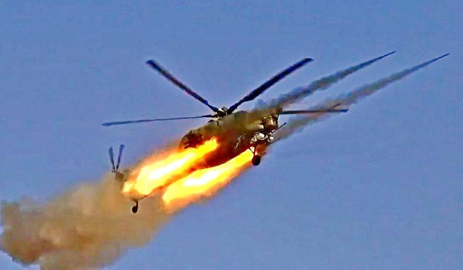 «Карусель» тандема Ми-28 и Ми-35 помогла армии САР взять боевиков в клещи