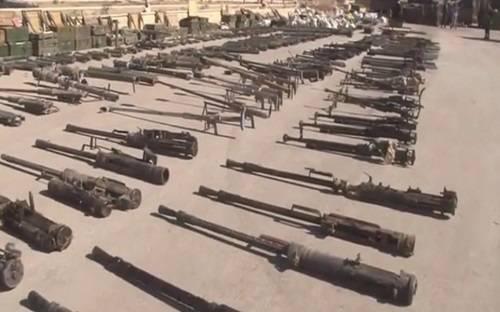 Невероятный арсенал: армия Сирии захватила вооружение ИГИЛ