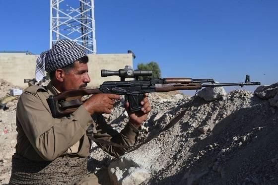 Начались прямые столкновения курдов «Пешмерга» с иракской армией