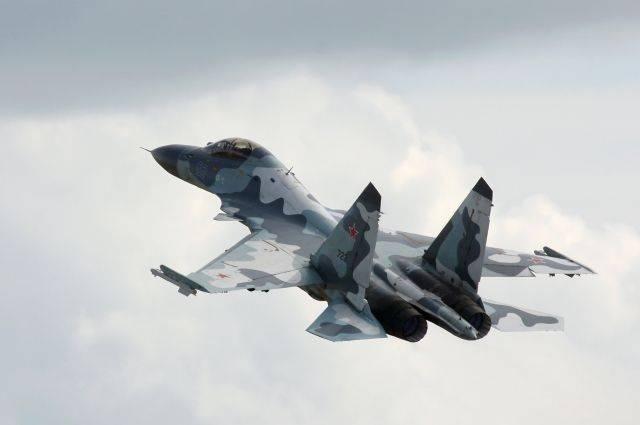 Российские истребители показали ВМС Украины свои возможности
