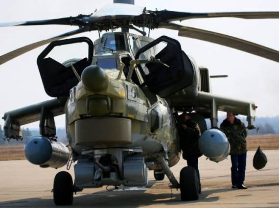 Первая партия серийных вертолетов Ми-28УБ готова