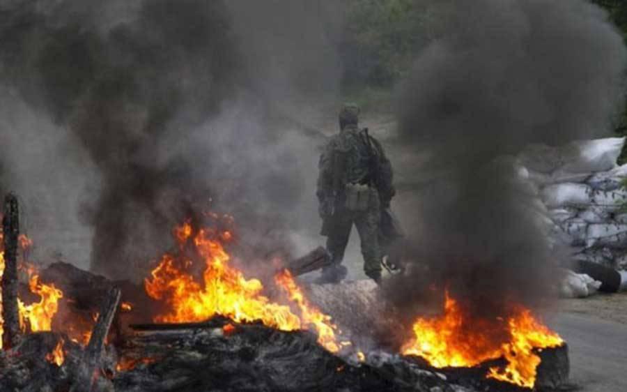 Видео от жителей Донбасса: обстановка на фронте накалена