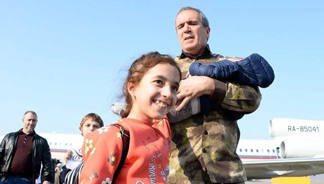 Подробности операции по спасению российских детей в Сирии
