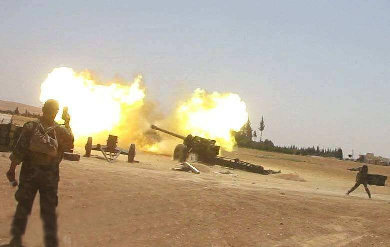 Полное освобождение: ВКС РФ и САА разнесли боевиков в пригородах Карьятейна