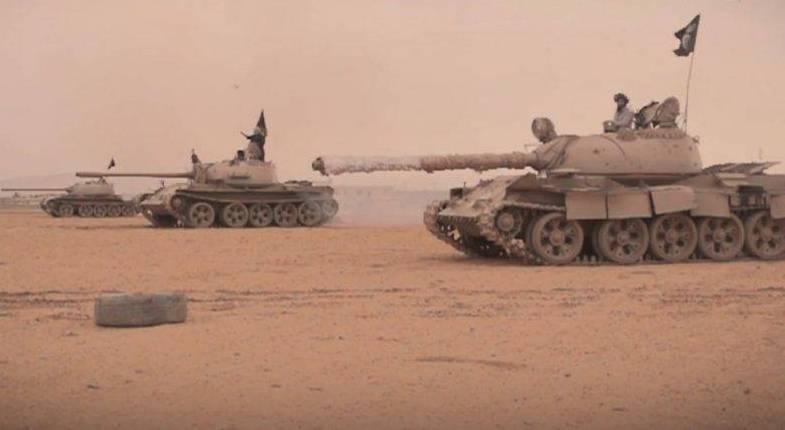 Сложная ситуация у Евфрата: ИГ собирает «ударный кулак» против САА и ВКС РФ