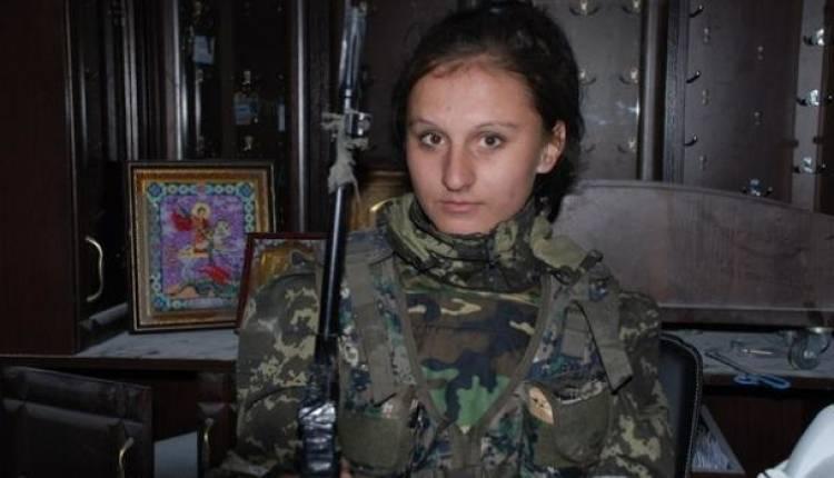 Под Донецком снайпер ликвидировал девушку легендарного комбата «Гиви»