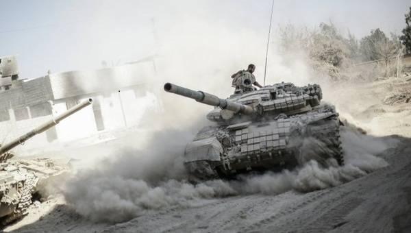 Химическая ловушка в Дамаске сработала: террористы размолотили боевиков США