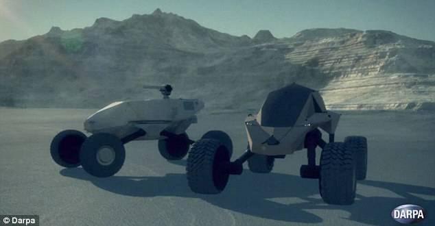 В США разрабатывают «мини-танки», которые не имеют смотрового окна