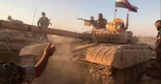 Сирийская армия бросила в бой элитные