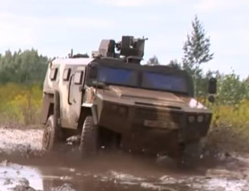 Китайские броневики в белорусской армии