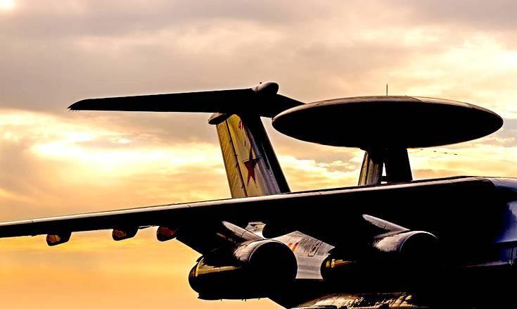 Опубликовано первое фото нового «летающего радара» А-100 «Премьер»