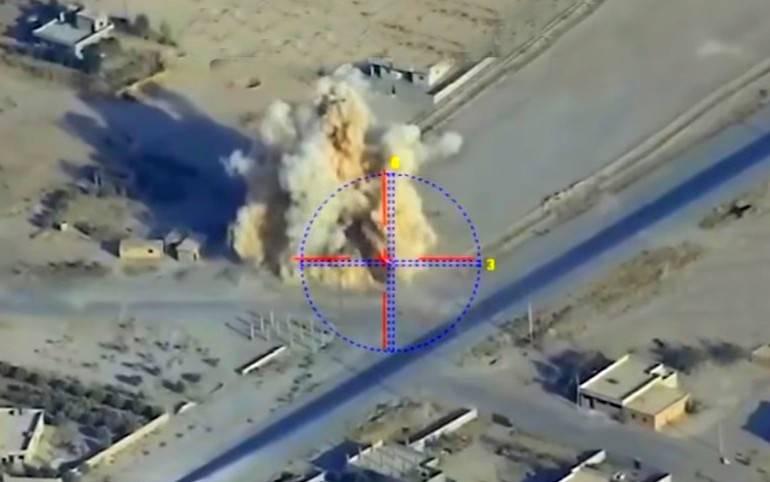 Интересный новый российский БПЛА в Сирии