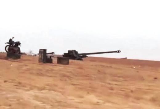 В Сирии легендарные советские