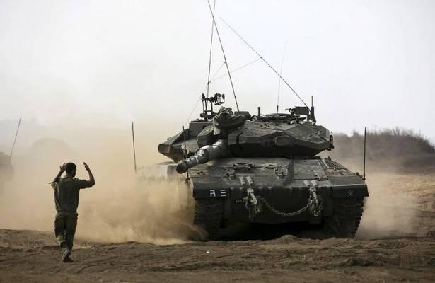 Израильский танк открыл огонь в направлении войск Сирии