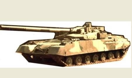 Первые изображения секретного советского танка Объект 490А