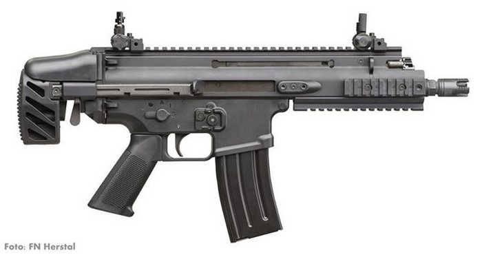FN Herstal представит новый субкомпактный карабин FN SCAR-SC