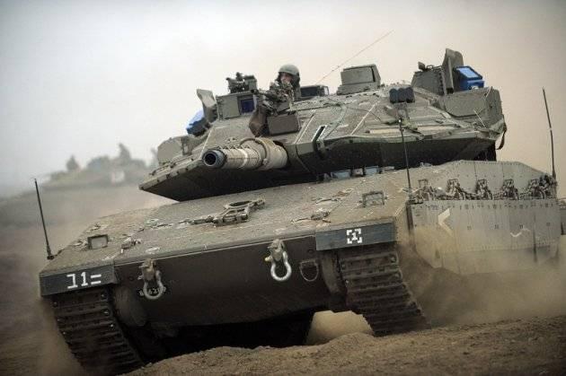 Израильские танки атаковали сирийских военных