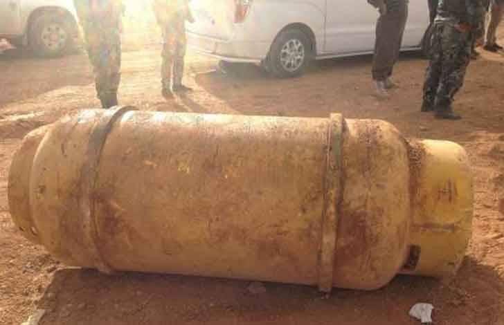 Бойцы САА захватили крупный склад оружия массового поражения в Хаме