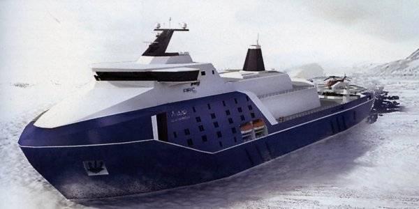 Российский атомный ледокол «Лидер» станет арктическим охотником