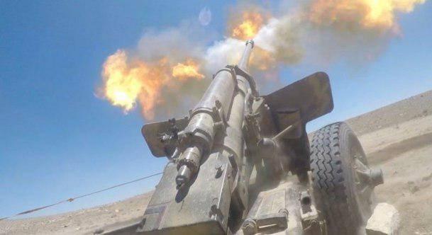 Бой в Харасте: САА уничтожила командира боевиков на транспортной базе