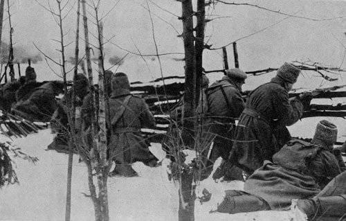 Русские солдаты у немцев научились брать