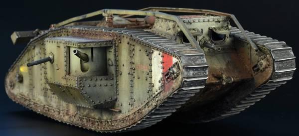 Британские танки MK I - MK V