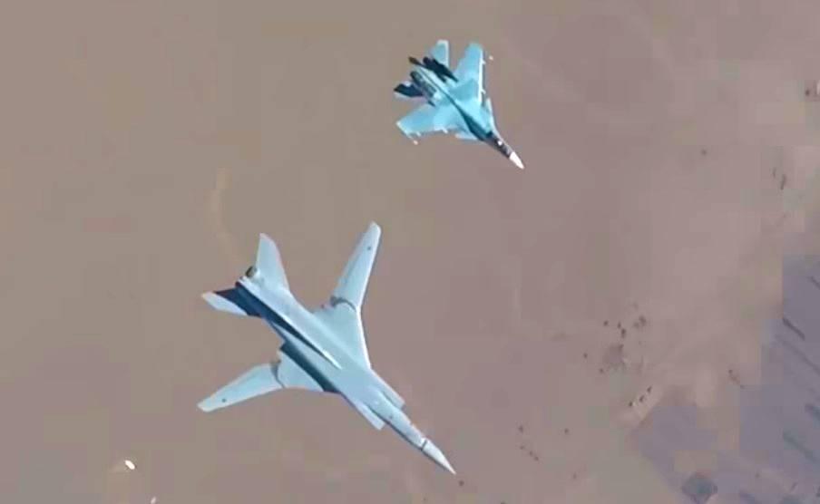 Ту-22М3 над Евфратом: таких кадров вы еще не видели
