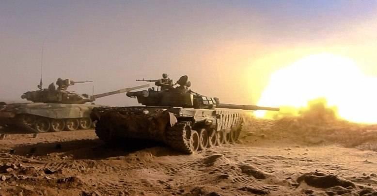 Бойцы САА зачищают сирийскую пустыню, сжимая котел в западном Дейр-эз-Зоре