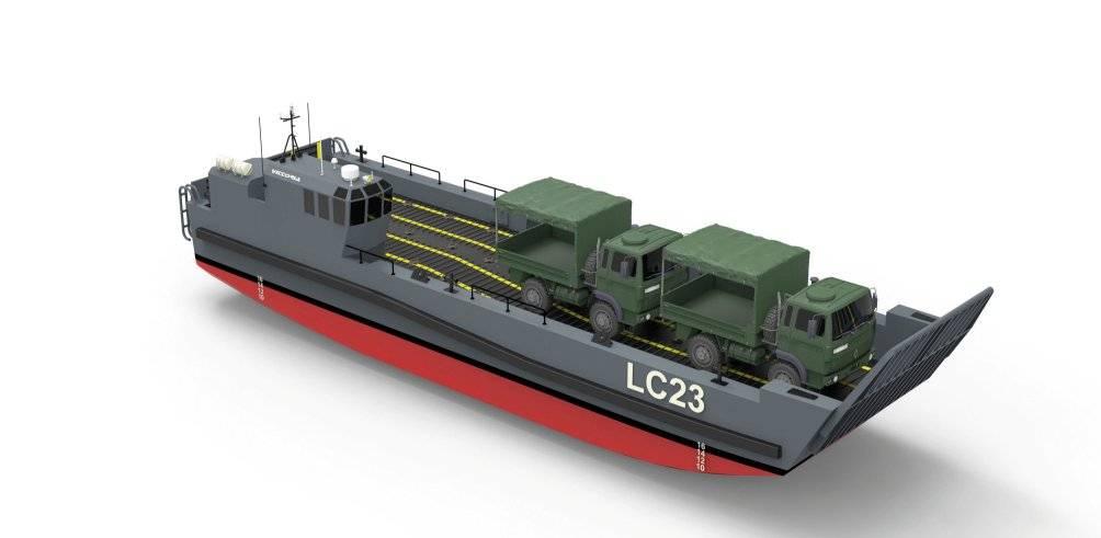 Во флоте НАТО прибывает: новые десантные корабли LC23