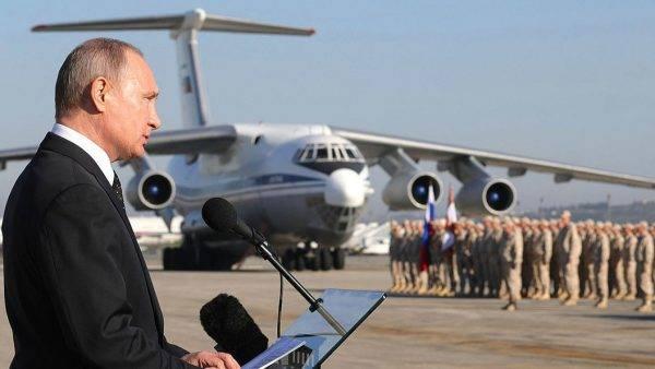 Русский флаг остаётся в Сирии самой эффективной гарантией