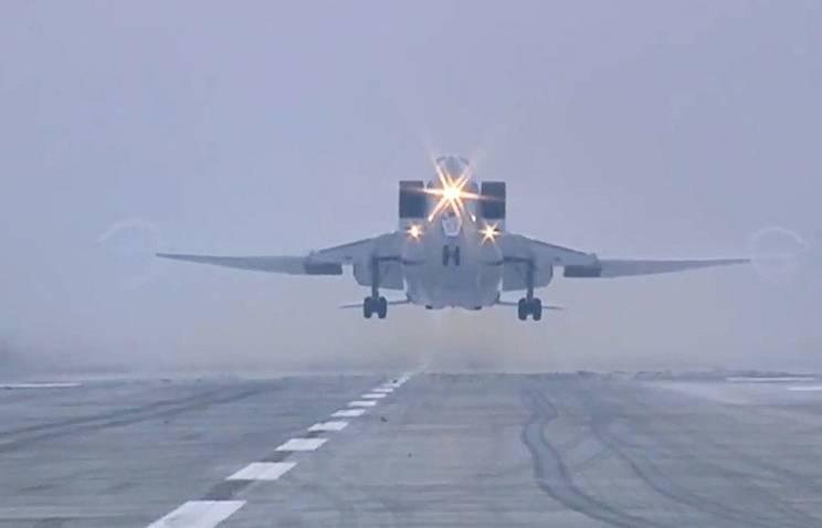 Ту-22М3 возвращаются на базы после завершение задач в Сирии