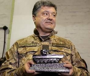 Порошенко сравнил стрелявших по мирному населению бойцов ВСУ с спартанцами