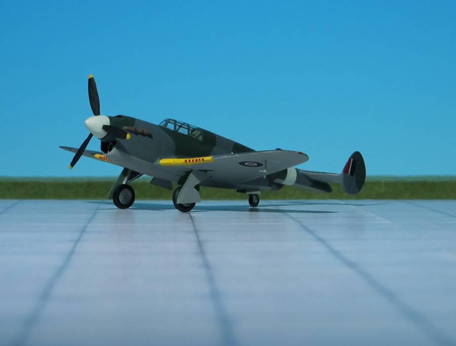 Высотный перехватчик Gloster F.18/37. Великобритания
