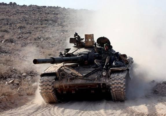 Бойцы САА мощным ударом рассекли анклав боевиков в Дамаске на две части