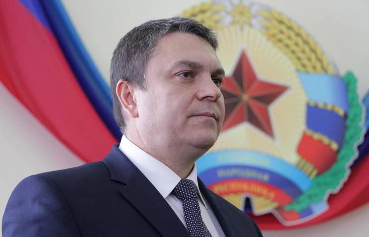 Глава ЛНР Пасечник запретил ополченцам Донбасса стрелять по ВСУ