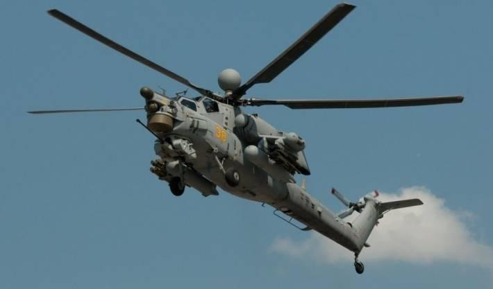 Опасный противник для американских Apache - новый вертолет Ми-28НМ