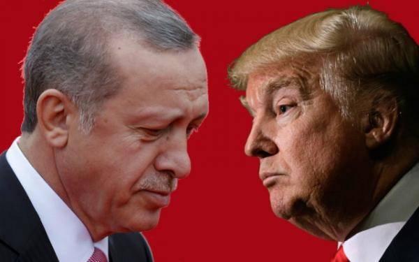 Эрдоган против Трампа
