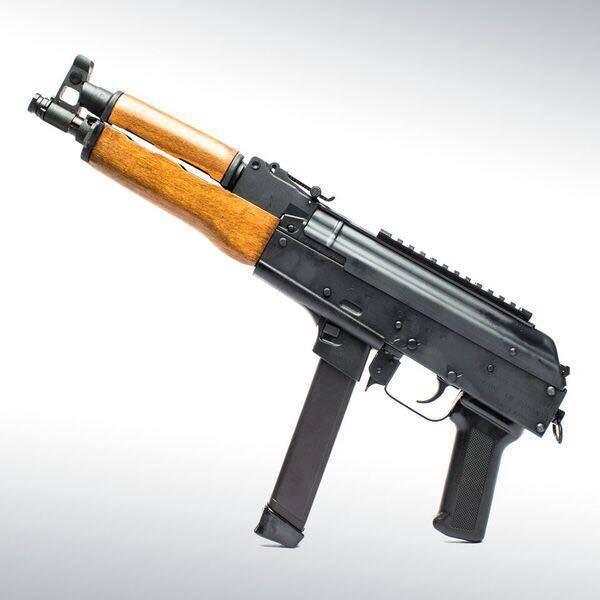 AK-Draco NAK9 – автомат Калашникова под магазины пистолетов Glock