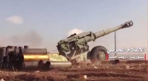 Сирия: 152-мм пушка-гаубица