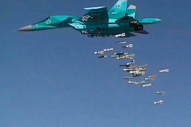 Бомбардировка ВКС в Идлибе: колонна боевиков оказалась на пути пилотов РФ