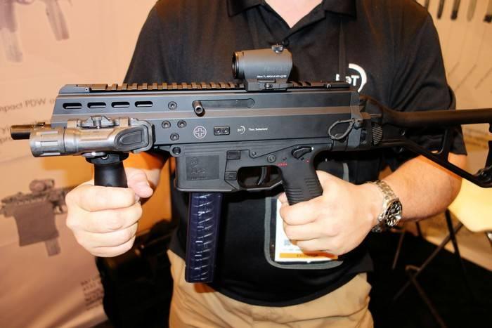 Краткий обзор пистолета-пулемета APC9/45 от компании Brugger&Thomet