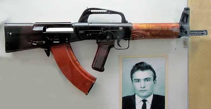 Экспериментальный советский автомат ЛА-4