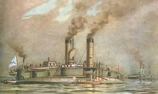 Как Россию охраняли круглые корабли