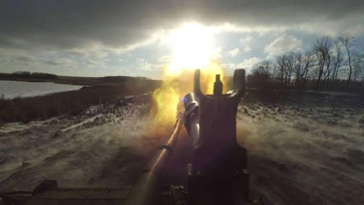 Штаб АТО обвиняет ополченцев Донбасса в артударе по Дебальцево
